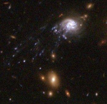 Galaxies Comet Galaxy