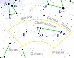 Sternbilder: Chamäleon